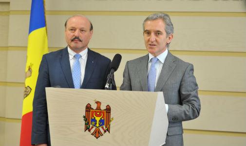 Iurie Leancă şi Valeriu Ghileţchi