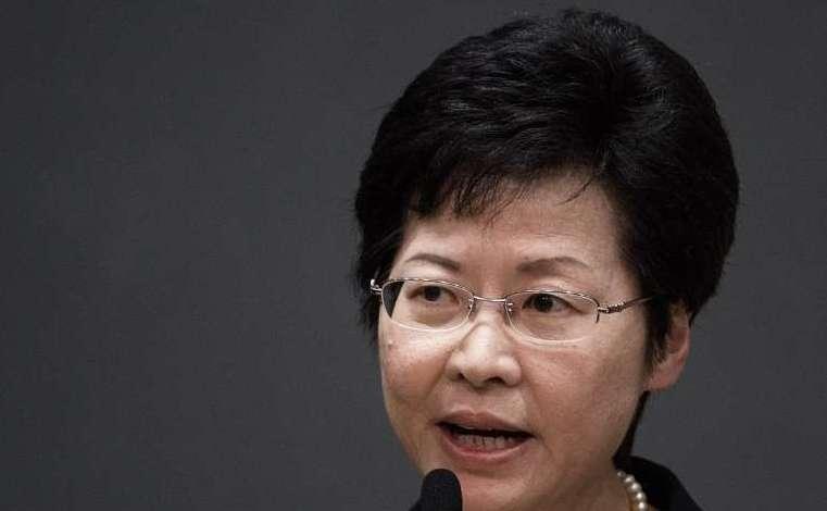 Carrie Lam, noul şef executiv al Hong Kong-ului.