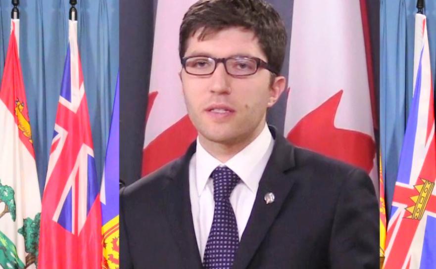 Parlamentarul canadian Garnett Genuis