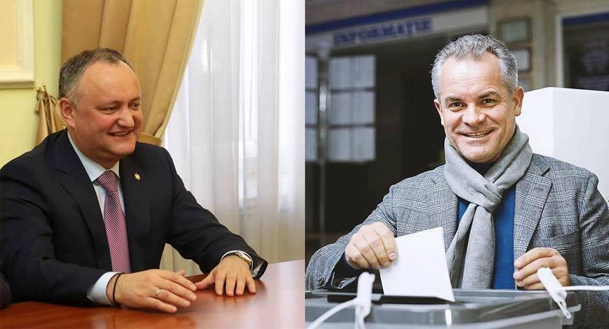 Igor Dodon şi Vlad Plahotniuc