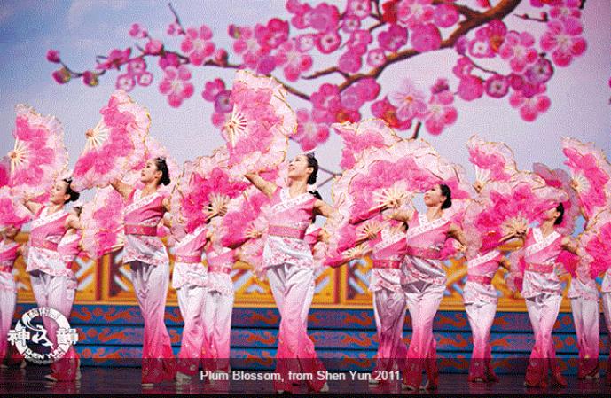Dans inspirat din înflorirea florilor de prun, Shen Yun 2011