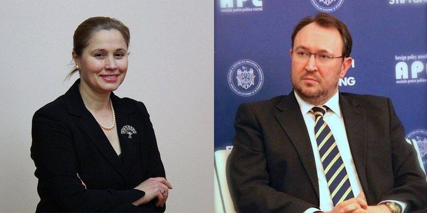 Victoria Iftodi şi Alexandru Tănase