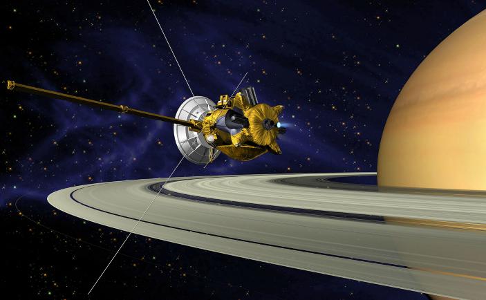 Sonda spaţială Cassini-Huygens