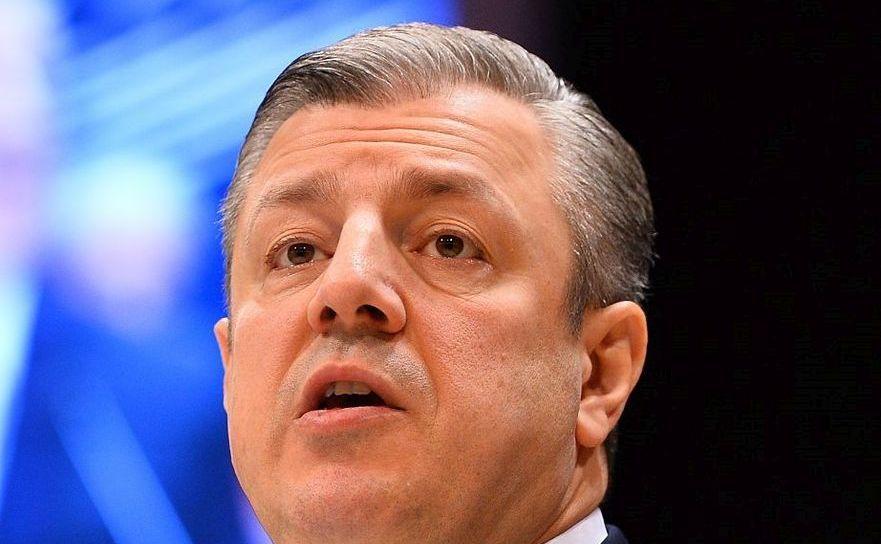Premierul georgian Giorgi Kvirikaşvili.