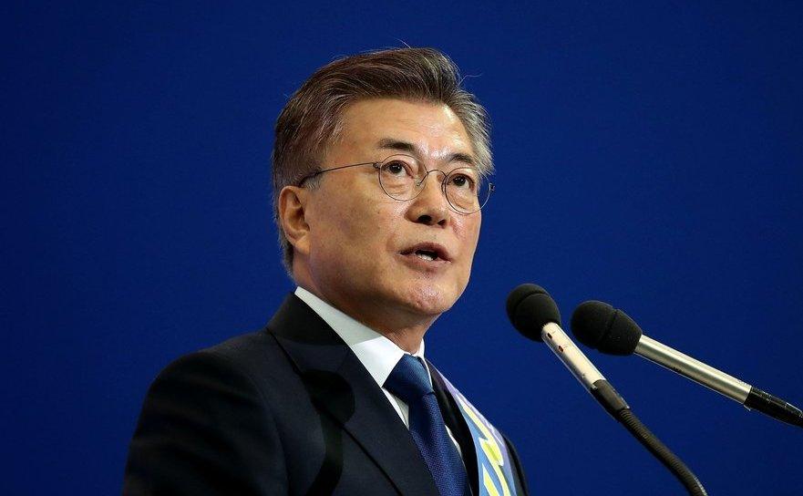 Preşedintele sud-coreean Moon Jae-in