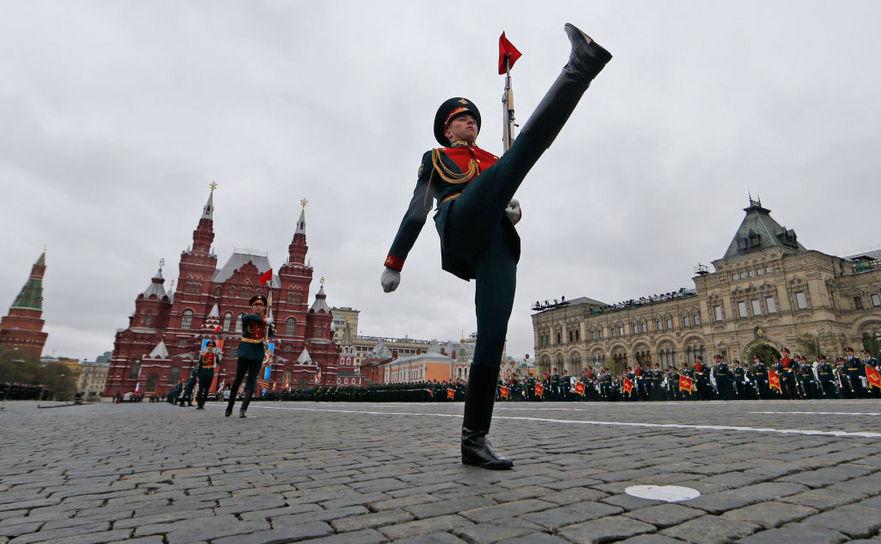 Ziua Victoriei sărbătorită în Piaţa Roşie din Moscova, 9 mai 2017