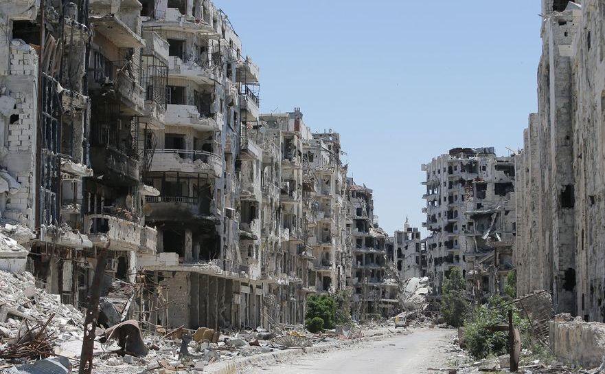 Dezastru în Siria,