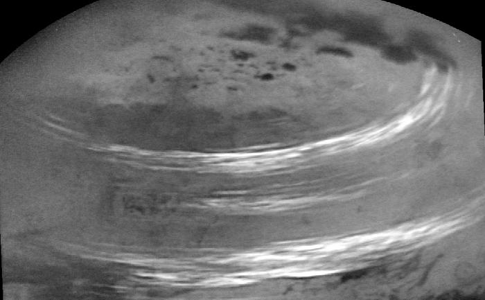 Titan (sau Saturn VI) este cel mai mare satelit al planetei Saturn