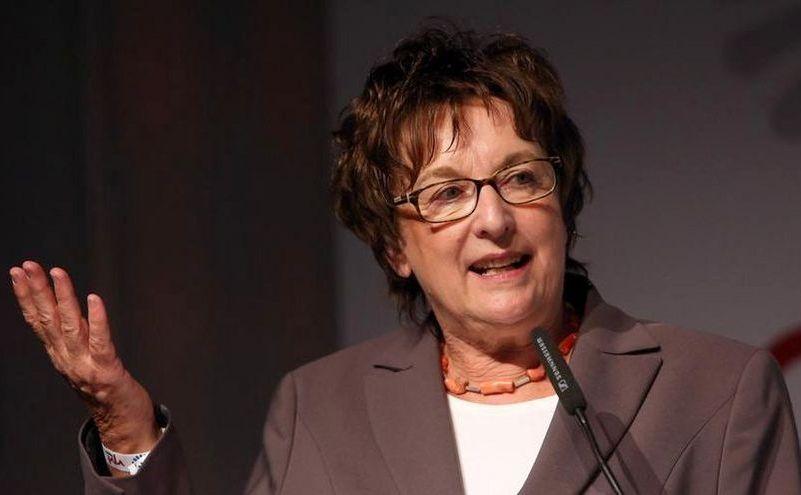 Ministrul german al economiei, Brigitte Zypries.