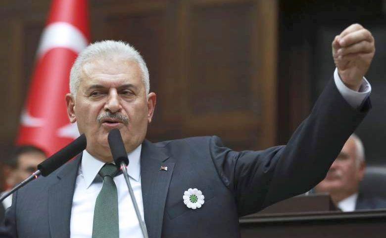 Premierul turc Binali Yildirim.