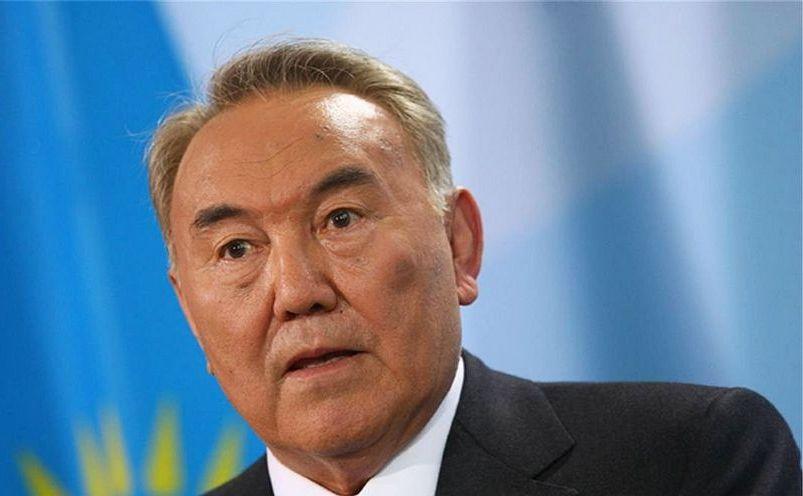 Preşedintele kazah Nursultan Nazarbaev.