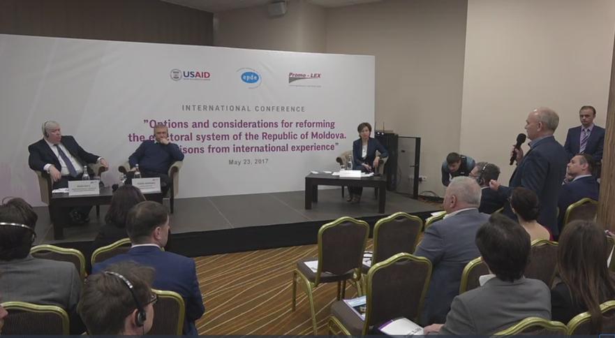 Promo-LEX a prezentat spre dezbatere studiul experţilor internaţionali 23.05.2017