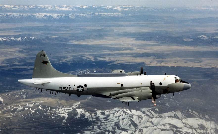 Avion de spionaj EP-3 al Marinei SUA.