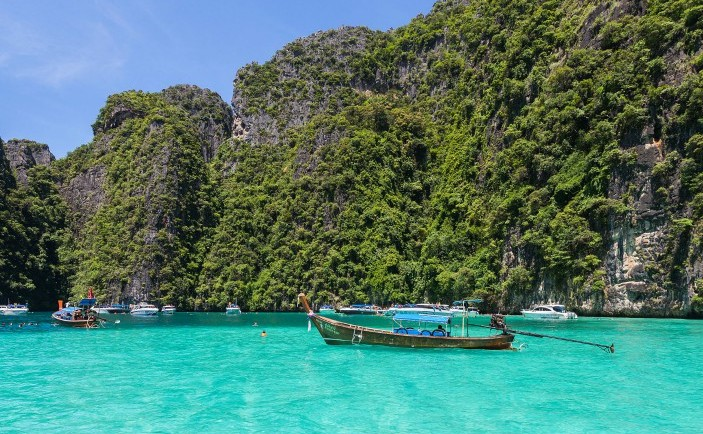 Plaja Maya Bay,Tailanda
