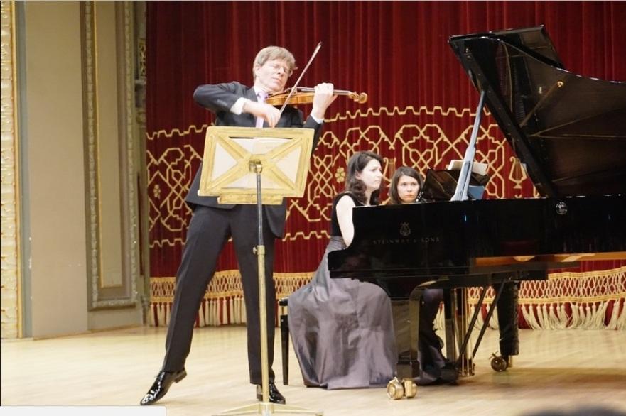 Volkhard Steude, concertmaestrul Filarmonicii din Viena