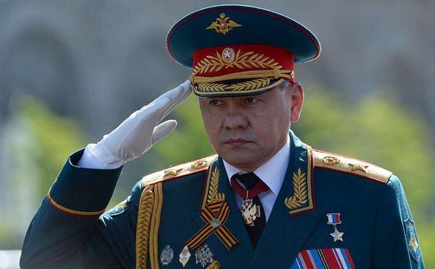 Ministrul rus al apărării, Serghei Şoigu.