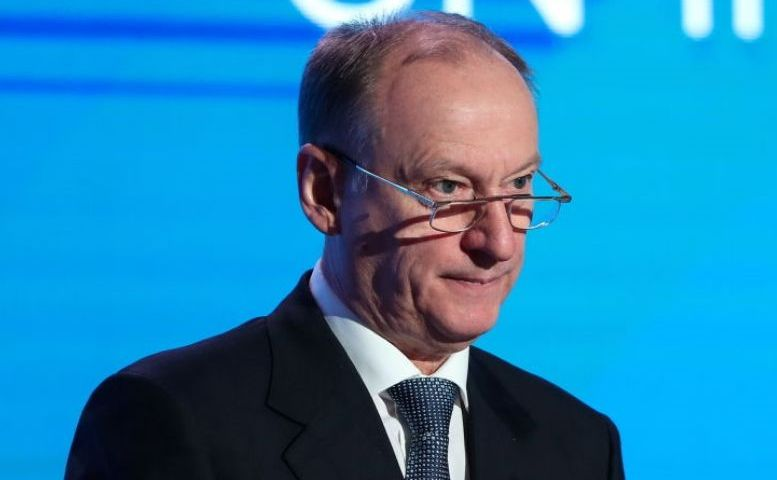 Nikolai Patruşev, secretarul Consiliului rus de Securitate.