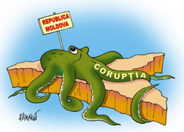 Corupţia în Moldova.