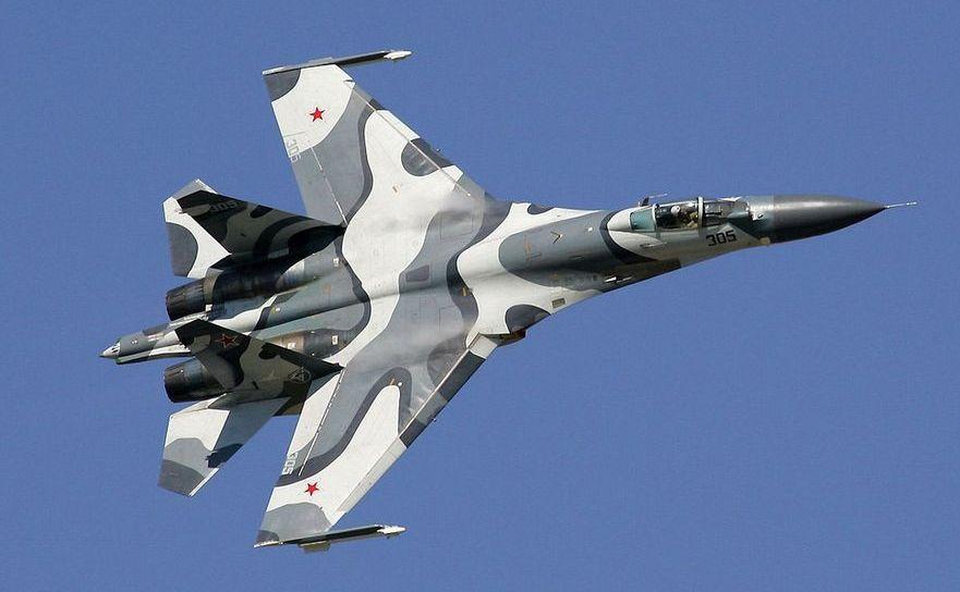 Avion de luptă rusesc Su-27SKM.
