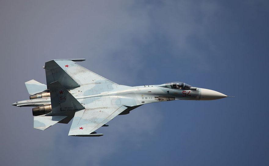 Avion de luptă rusesc Su-27SM3.