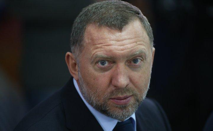 Miliardarul rus Oleg Deripaska.