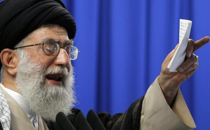 Liderul Suprem al Iranului, Ayatollahul Ali Khamenei.