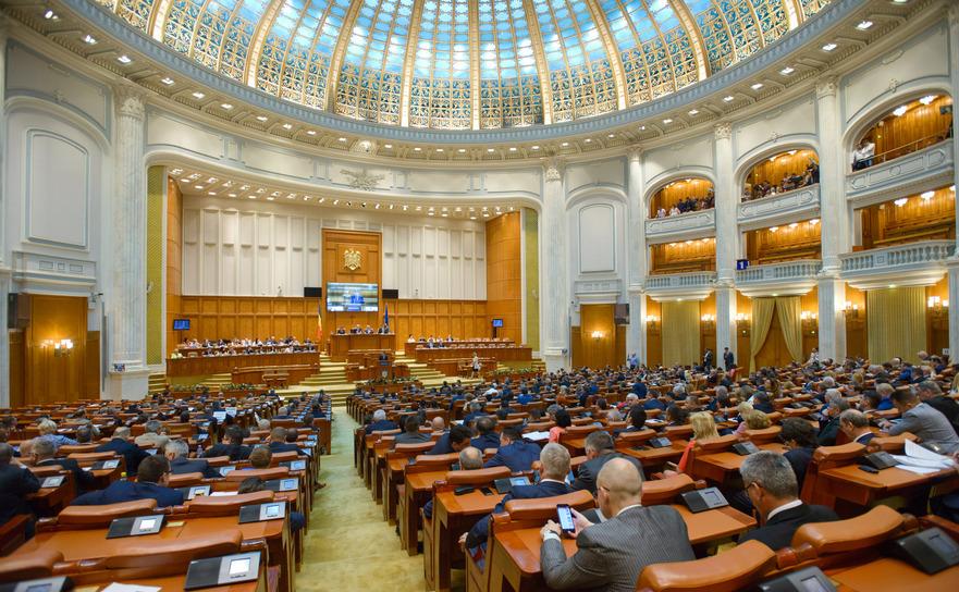 Şedinţă la Parlament