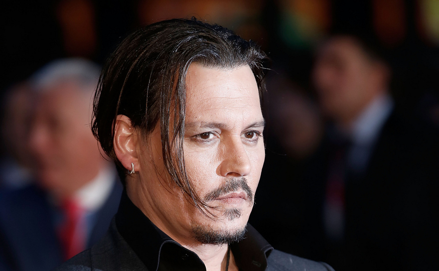 Actorul american Johnny Depp.