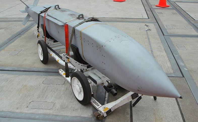 Rachetă americană de tipul AGM-154 JSOW.
