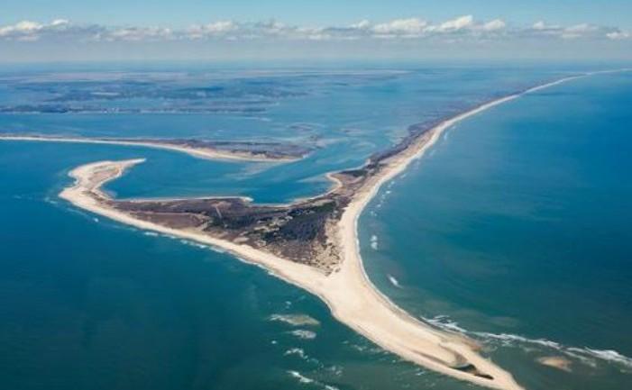 Insula Shelley Island, Carolina de Nord (SUA)