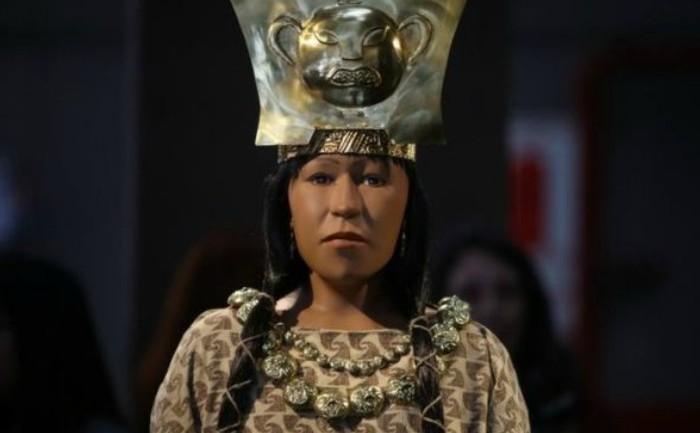 Señora de Cao sau Dama de Cao, mumia descoperită în piramida Huaca Cao Viejo, Peru