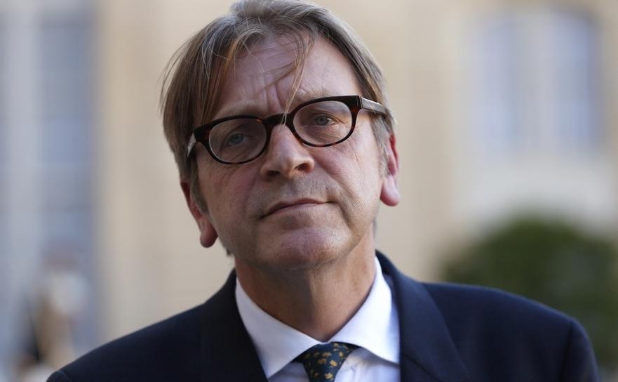 Europarlamentarul belgian Guy Verhofstadt