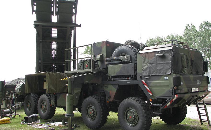 Sistem american de apărare antirachetă Patriot.