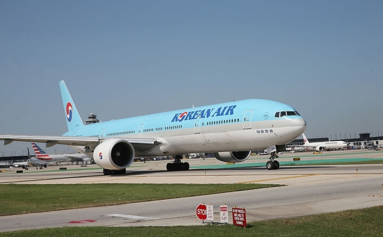 Avion al companiei aeriene sud-coreene Korean Air.