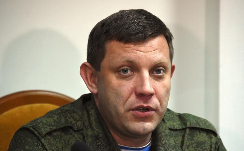 Liderul autoproclamatei Republici Populare Doneţk, Alexander Zaharcenko.