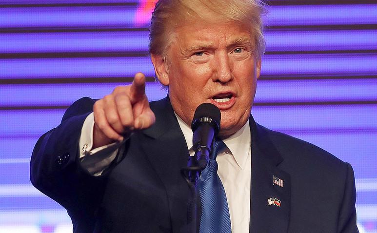 Preşedintele american Donald Trump.