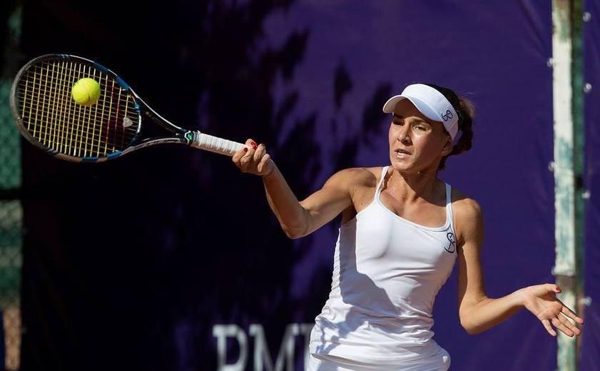 Jucătoarea română de tenis Irina Bara.