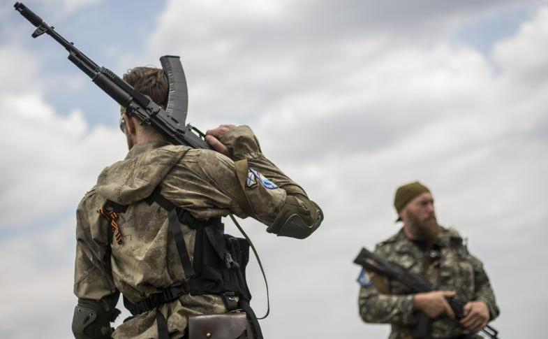 Separatişti ucraineni în estul Ucrainei
