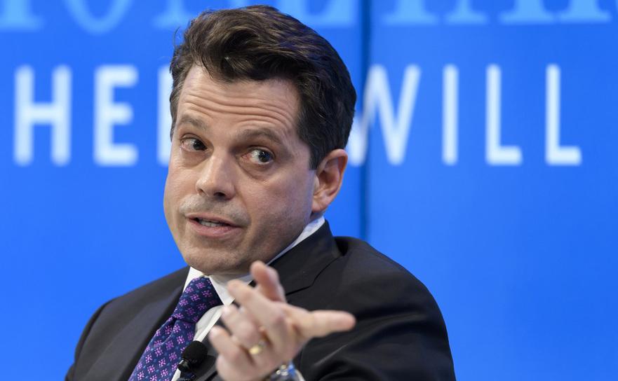 Directorul pentru comunicaţii al Casei Albe, Anthony Scaramucci.