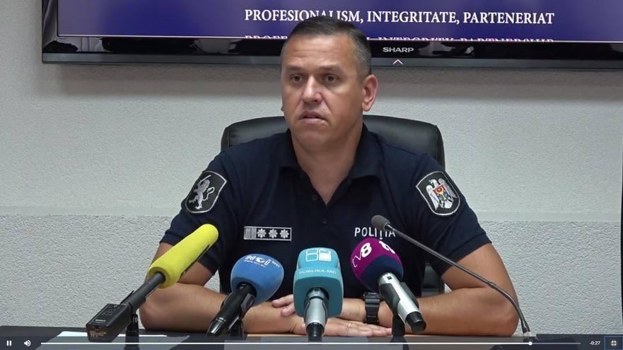Alexandru Pînzari, şeful Inspectoratului General de Poliţie