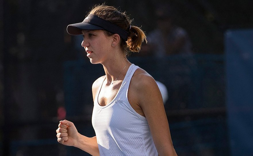 Jucătoarea română de tenis Patricia Ţig.