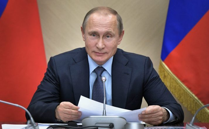 Preşedintele rus Vladimir Putin.