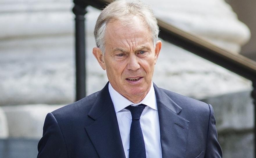 Fostul premier britanic Tony Blair.