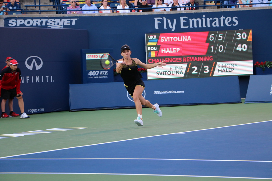 Simona Halep in semifinala turneului Rogers Cup 2017 din Toronto