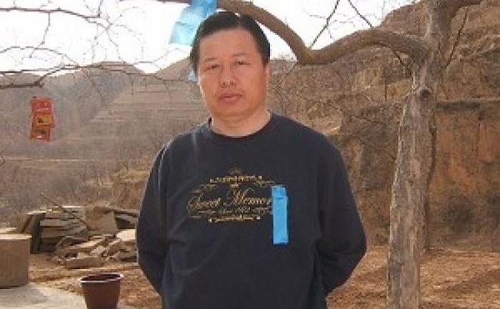 Avocatul chinez pentru drepturile omului Gao Zhisheng.