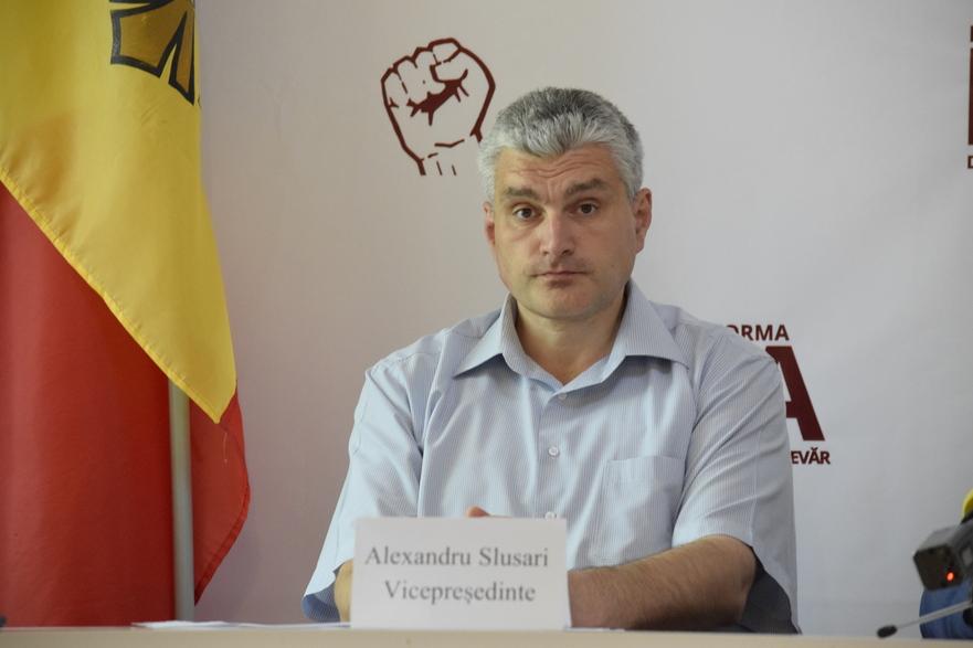 Alexandru Slusari, vicepreşedintele Platformei Demntitate şi Adevăr