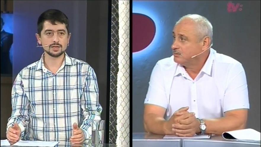 Valeriu Paşa, activist civic şi Ghenadie Cosovan, veteran de război