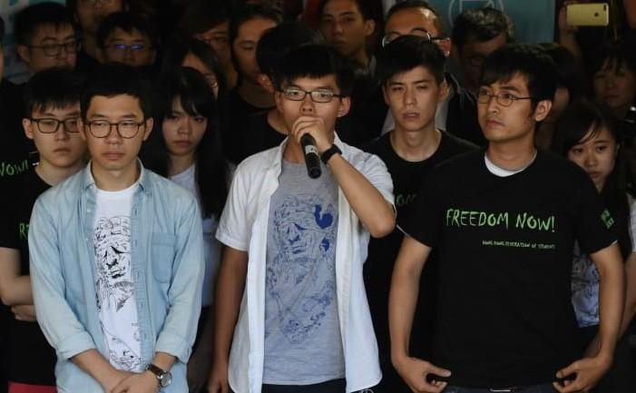 Nathan Law, Joshua Wong şi Alex Chow