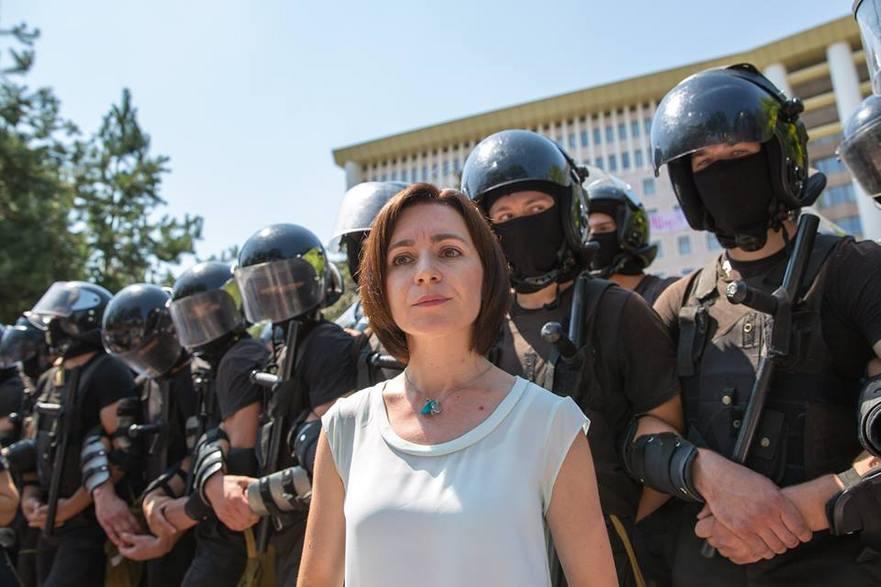 Maia Sandu, preşedinta formaţiunii politice PAS din R. Moldova