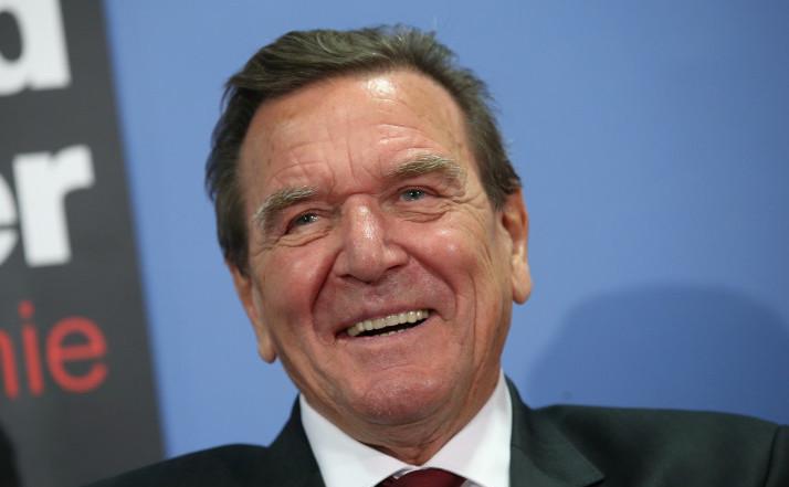 Fostul cancelar german Gerhard Schröder.